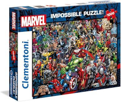 Clementoni Marvel Impossible Puzzle, 1000 Pezzi