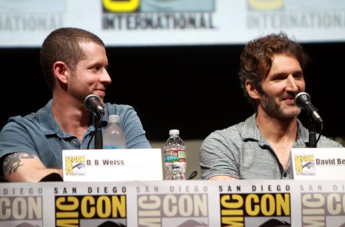 Benioff e Weiss al san Diego Comic-Con
