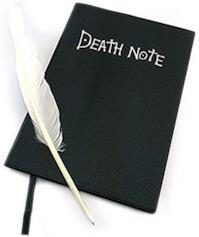 Quaderno della Morte + Penna di Piume