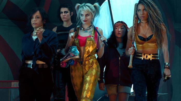 Il cast principale di  Birds of Prey e la fantasmagorica rinascita di Harley Quinn