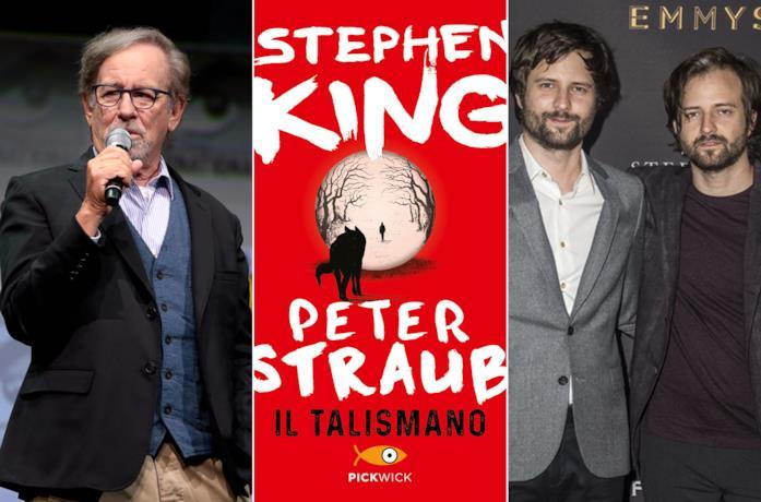 Steven Spielberg, il libro Il Talismano e i fratelli Duffer