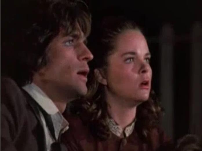 Una scena de La casa nella prateria con Adam e Mary