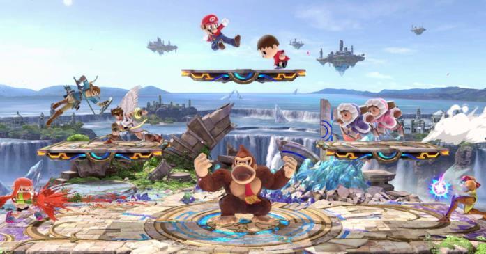 Rissa reale a 8 giocatori a Super Smash Bros. Ultimate