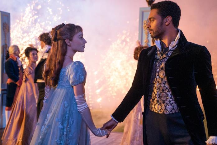 Simon e Daphne danzano