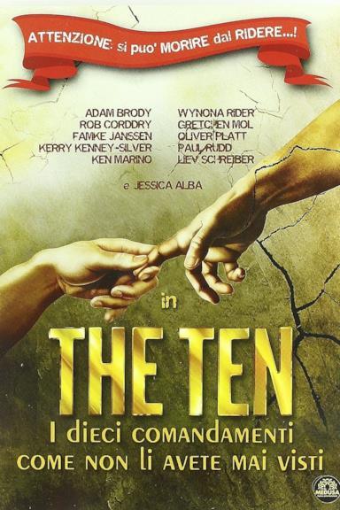 Poster The ten - I dieci comandamenti come non li avete mai visti