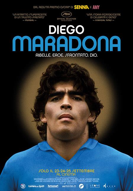 Locandina del documentario Diego Maradona