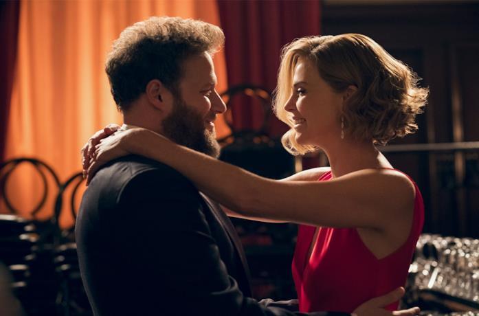 Seth Rogen e Charlize Theron