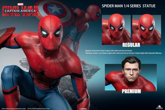 Spider-Man, ecco la statua da collezione da Civil War