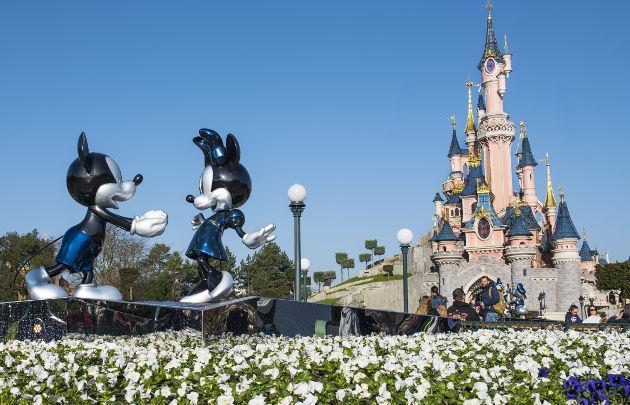Il castello di Disneyland Paris