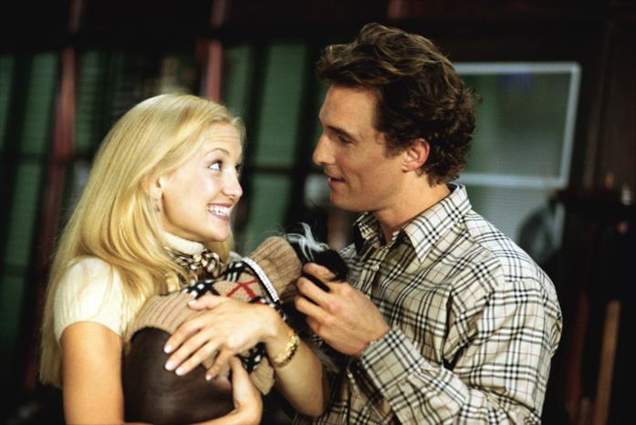 Kate Hudson e Matthew McConaughey in una scena del film Come farsi lasciare in 10 giorni