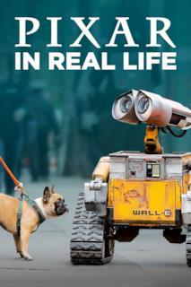 Poster Pixar in Real Life