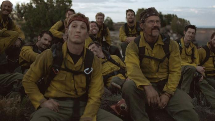 I protagonistI di Fire Squad in una scena del film