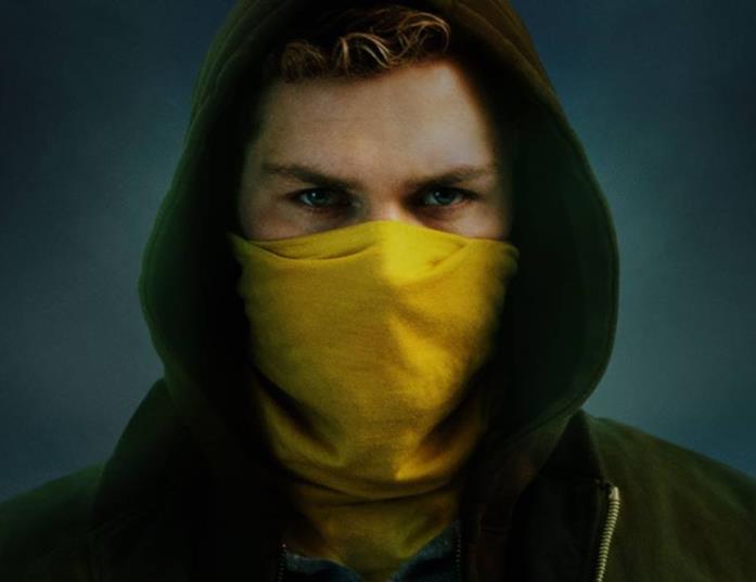 Finn Jones nei panni di Danny Rand in Iron Fist