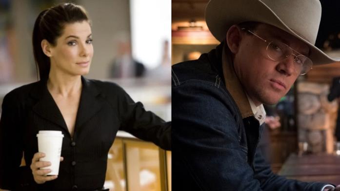 Un collage tra Sandra Bullock e Channing Tatum