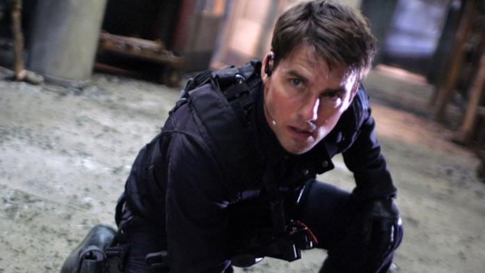 Un'immagine di Tom Cruise nei panni di Ethan Hunt
