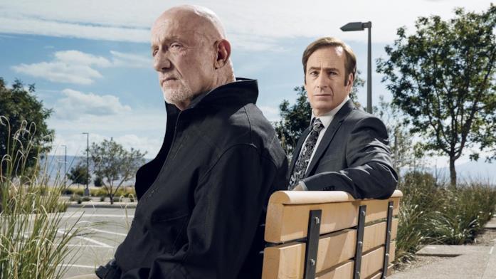 Una scena di Better Call Saul