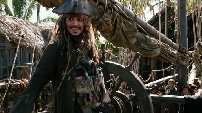 Jack Sparrow, personaggio di Pirati dei Caraibi - La Vendetta di Salazar