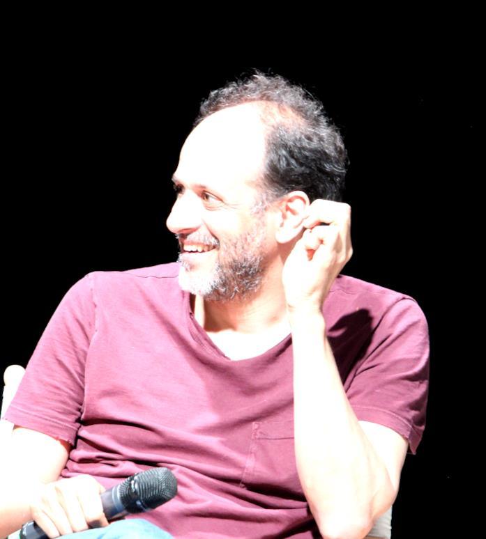 Luca Guadagnino a una conferenza pubblica