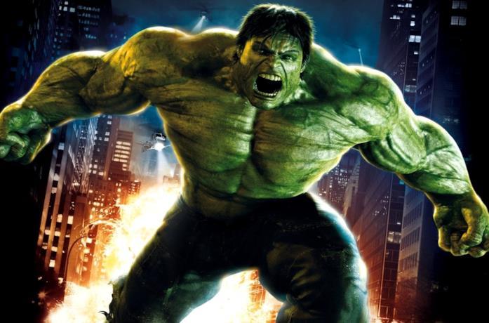 Eric Bana è Hulk in una scena del film