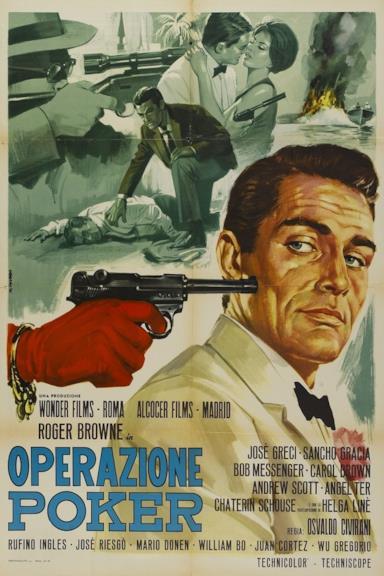 Poster Operazione poker