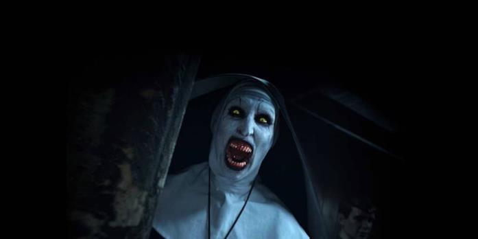 Valak mostra il suo volto terrificante in The Conjuring 2