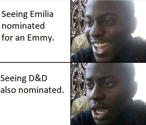 Un meme sulle nomination di D&D per Game of Thrones 8