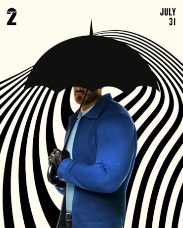 Il character poster di Umbrella Academy 2 con Luther