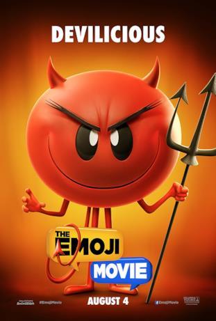 L'emoji del diavoletto col suo forcone