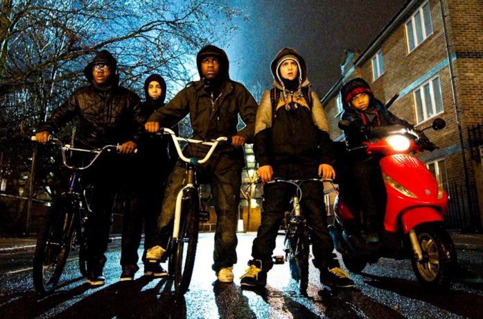 La banda di ragazzini protagonista di Attack the Block