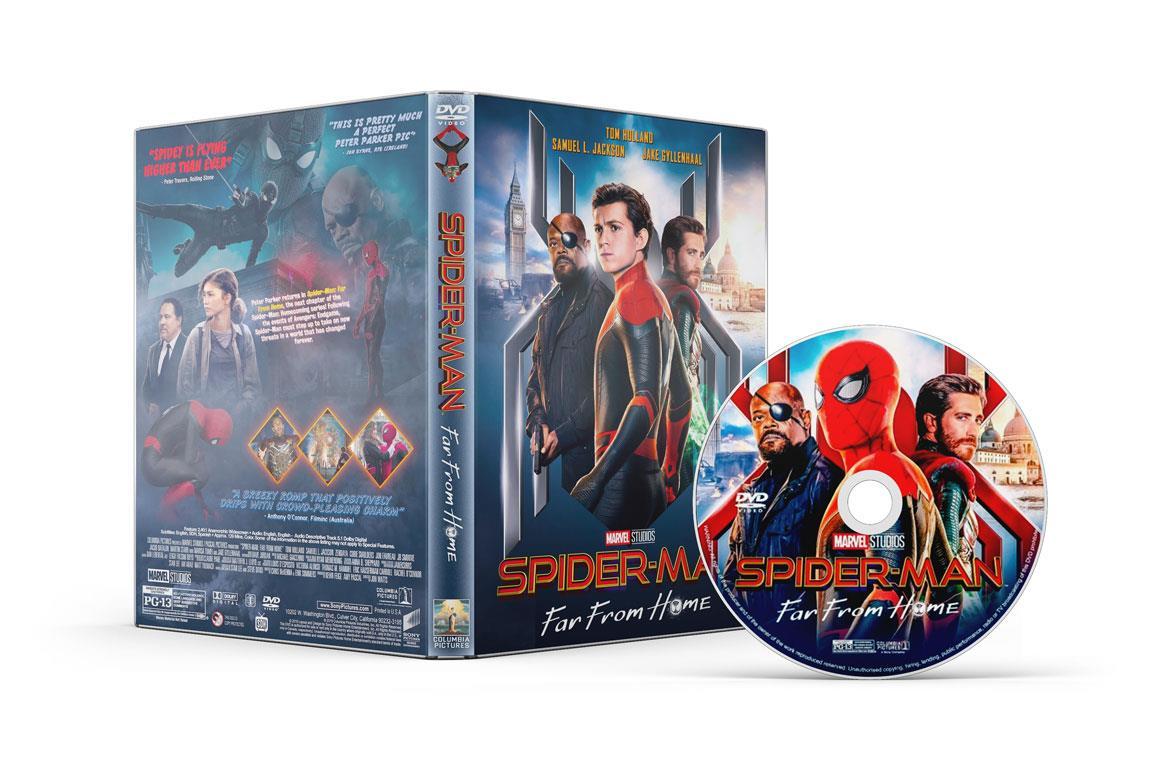 Le versioni home video di Spider-Man: Far From Home