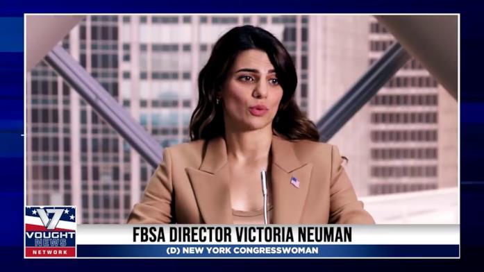 Victoria Neuman parla del nuovo accordo tra il Governo e la Vought