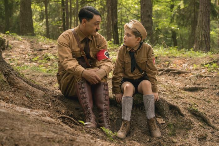 Adolf e Jojo discutono