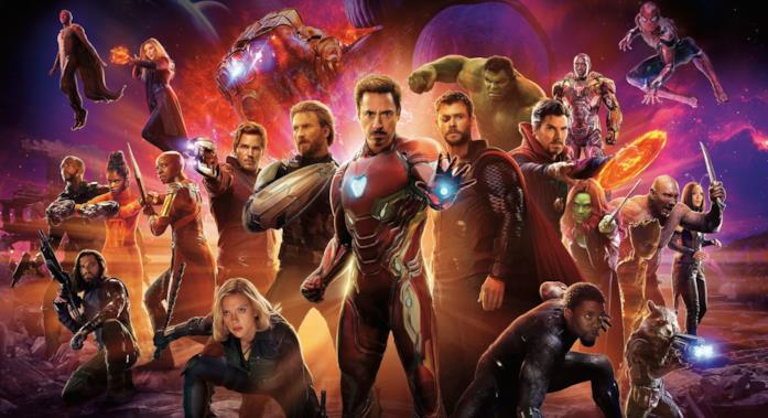 Il poster corale di Avengers:InfinityWar