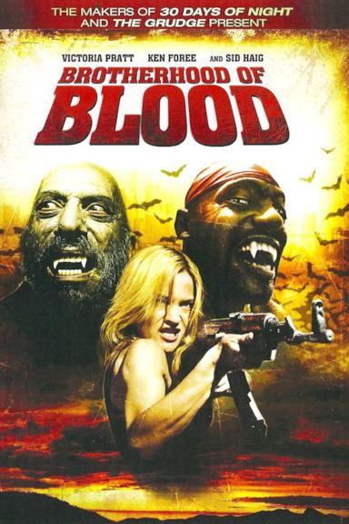 Poster Brotherhood of Blood