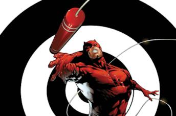 Daredevil in un fumetto di Marvel Comics