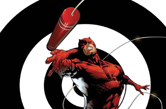 Daredevil in un fumetto di Marvel Comics