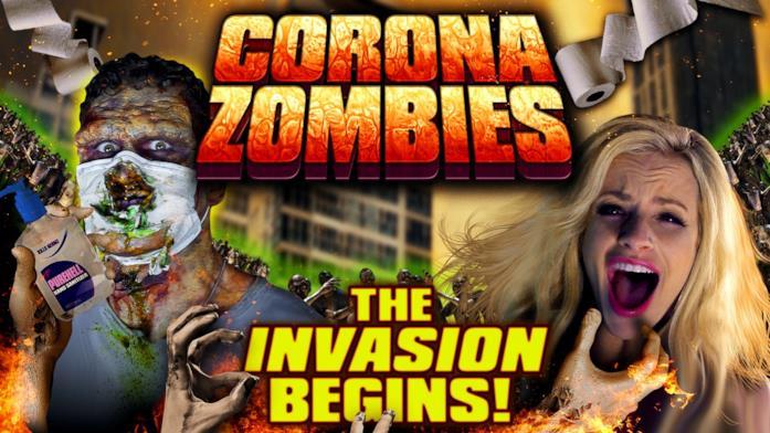 Il poster del film Corona Zombies
