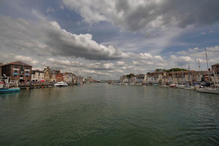 Il porto di Weymouth, nel Dorset