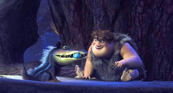 Douglas, il cane-coccodrillo del film