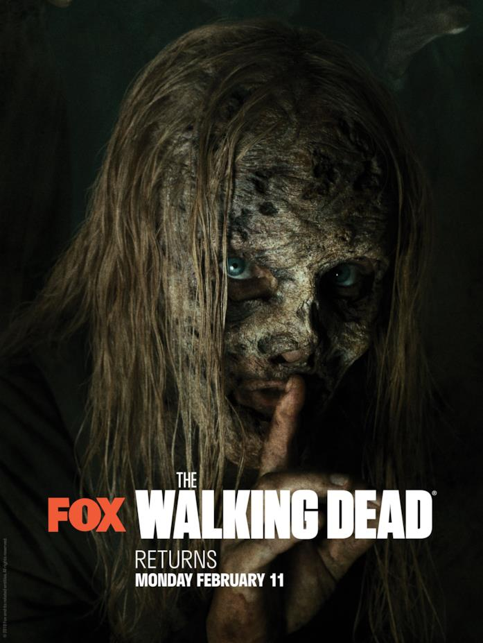 Alpha, la leader dei Sussurratori in The Walking Dead