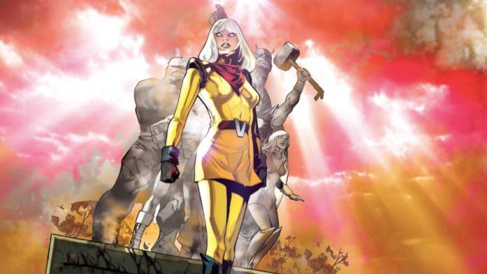 La prima apparizione di Voyager, la nuova eroina Marvel