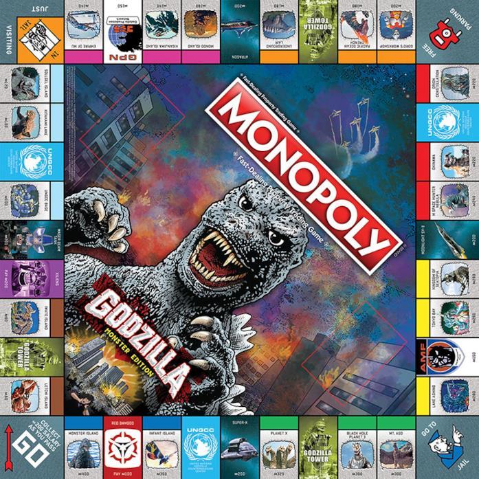 Il gioco da tavolo dedicato a Godzilla