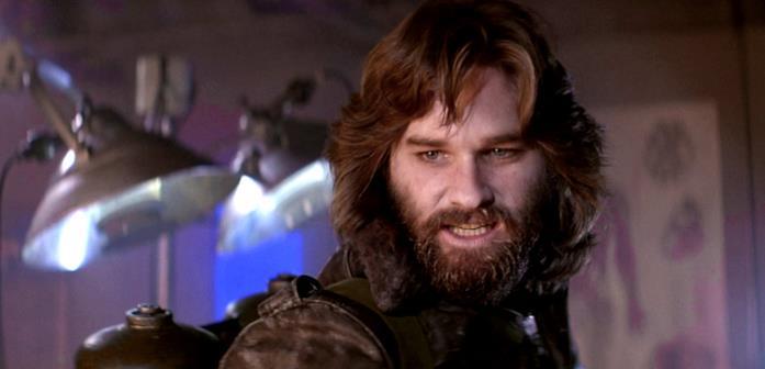 R.J. MacReady è interpretato da Kurt Russell