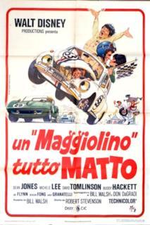 Poster Un Maggiolino Tutto Matto