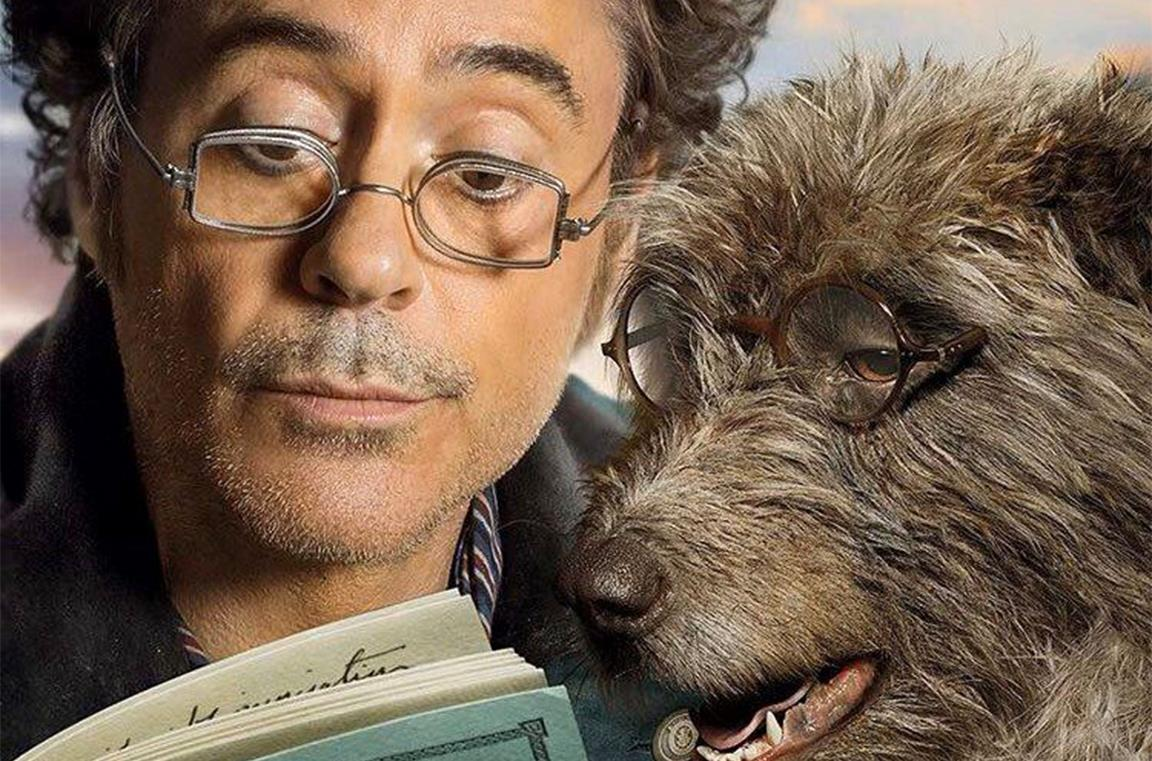 Robert Downey Jr. nel film Dolittle