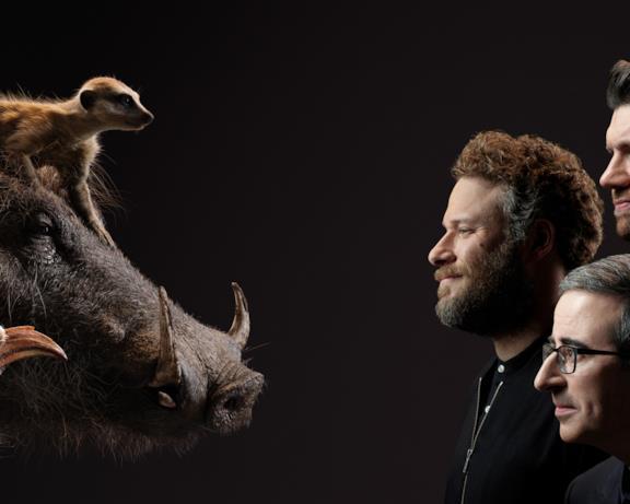 Nel cast di doppiatori de Il Re Leone anche John Oliver, Seth Rogen e Billy Eichner