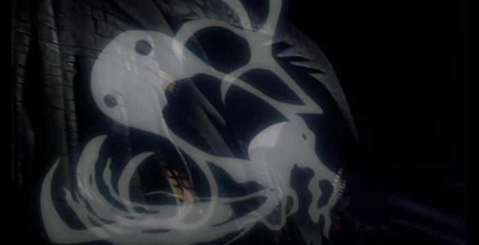 I fantasmi all'inizio The Nightmare Before Christmas ricordano L'Urlo