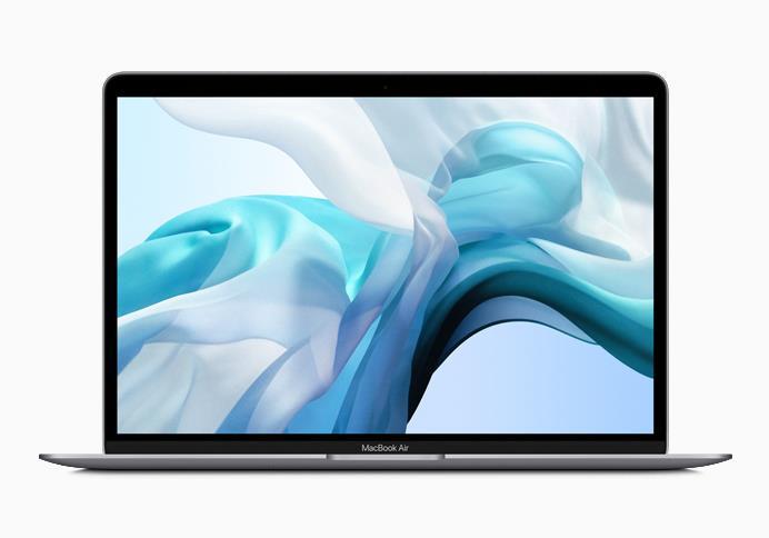 """Immagine stampa del MacBook Air 13"""" di luglio 2019"""