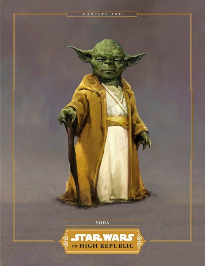 Un secondo concept art di Yoda