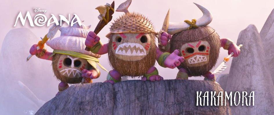 Hanno la forma di noci di cocco, ma sono dei temibili pirati